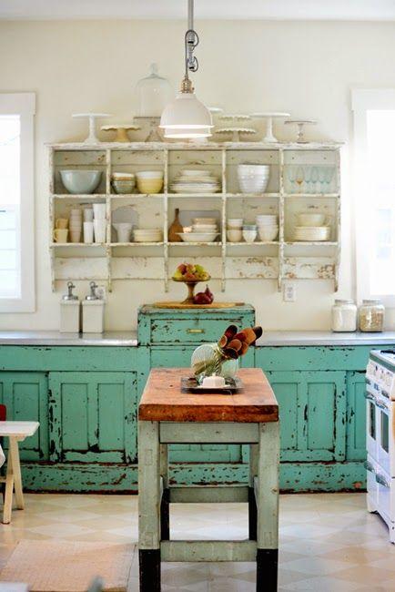 Foto Cucine Shabby Chic.Cucine Rustiche In Stile Shabby Chic 30 Modelli Da Sogno