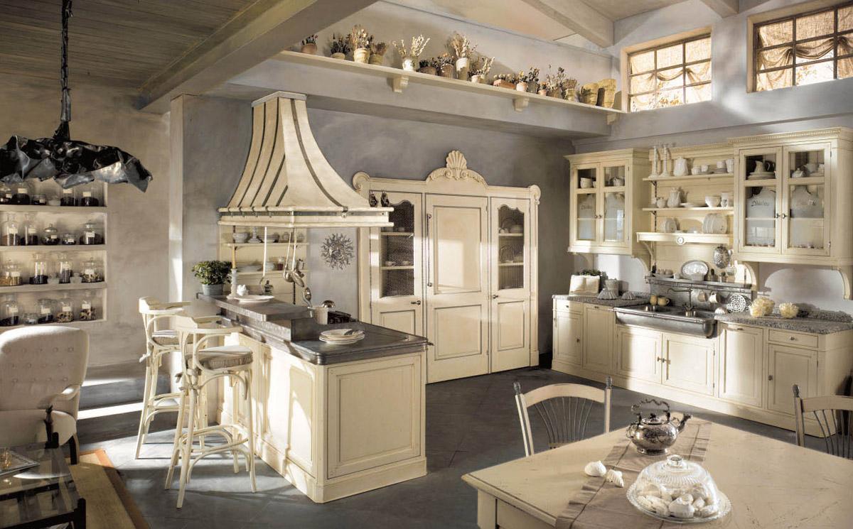 Cucine rustiche in stile shabby chic : 30 modelli da sogno ...