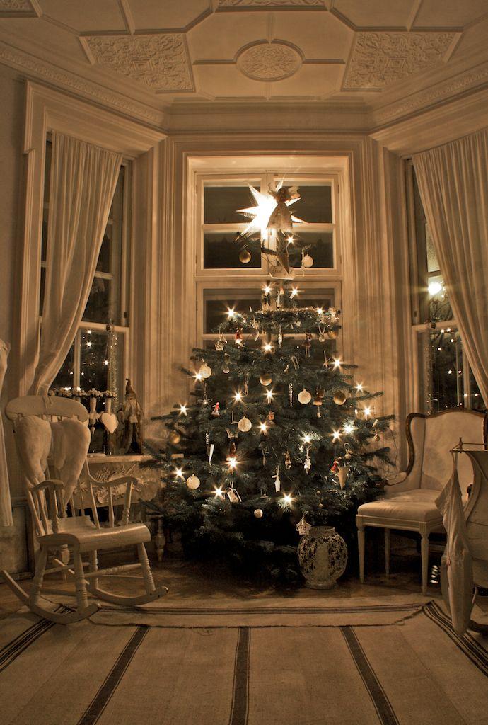 Immagini Di Case Natalizie.Gli Interni Delle Case Scandinave Arredate Per Natale