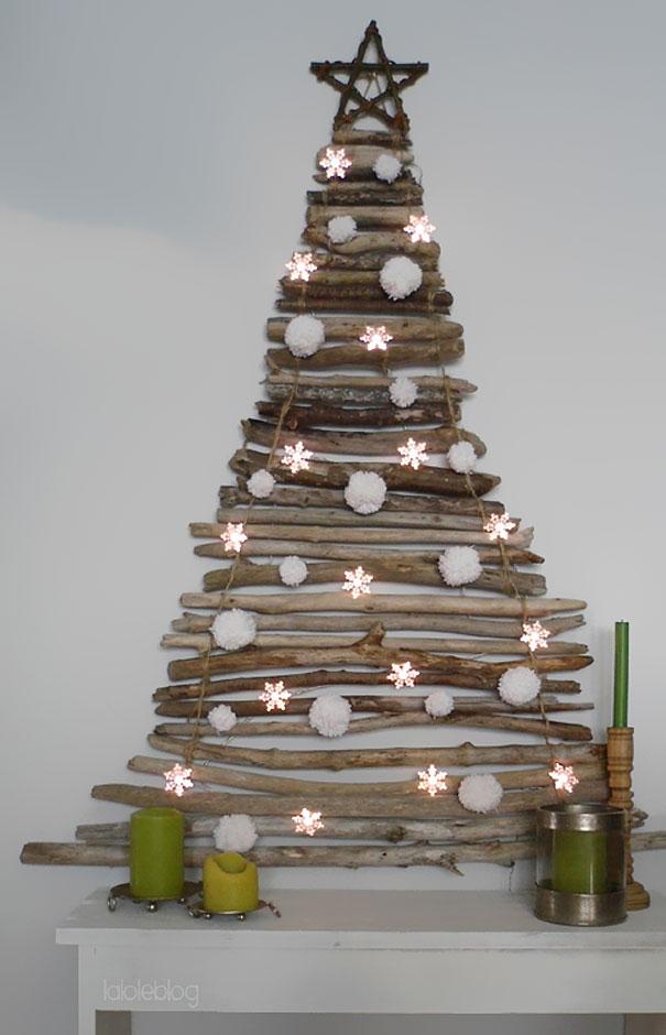 Albero Di Natale Shabby In Legno.Come Realizzare Alberi Di Natale Fai Da Te Guarda Le Foto