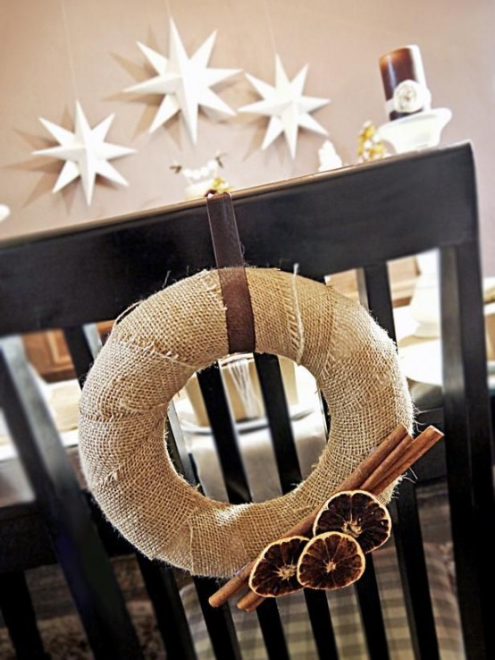 Decorazioni Natalizie Con La Cannella.Decorazioni Aromatiche Alla Cannella Per Un Natale Shabby