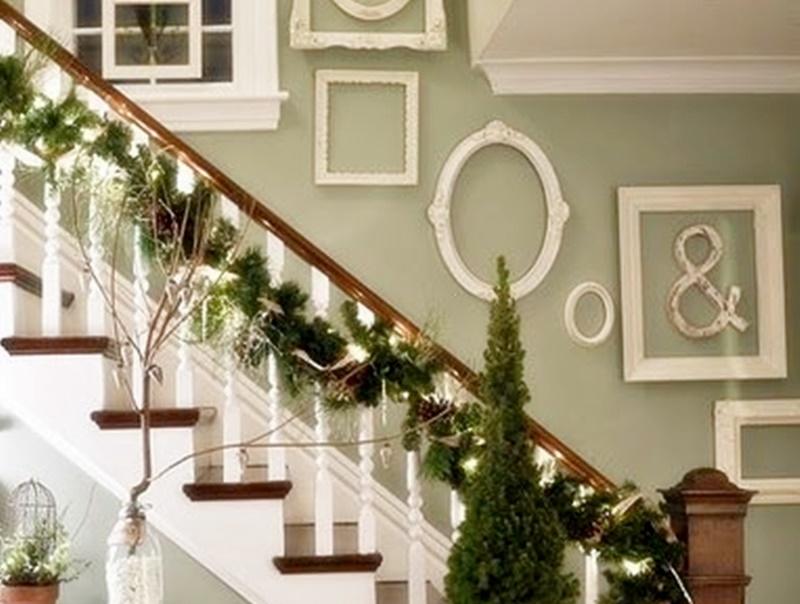 Come decorare le scale per natale 20 idee shabby for Decorazione di casa