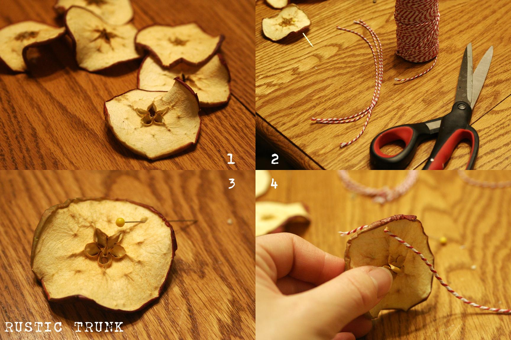 Addobbi Natalizi Con Frutta decorazioni natalizie con materiali naturali (foto)