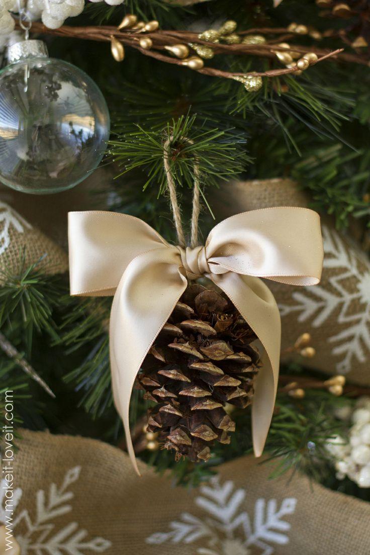 Lavoretti Di Natale Con Materiali Naturali.Decorazioni Natalizie Con Materiali Naturali Foto