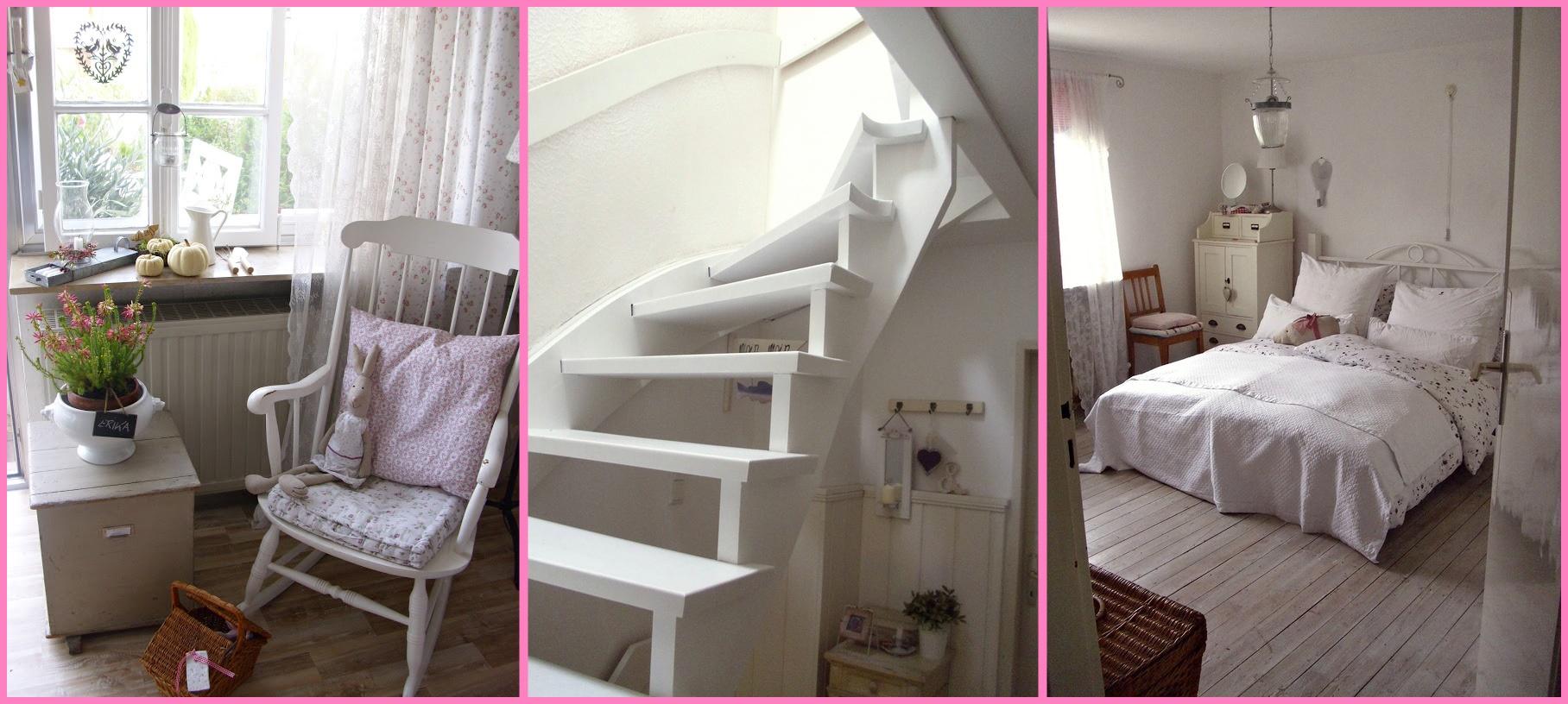 Casa shabby chic arredata con mobili ikea foto degli interni for Interni case country
