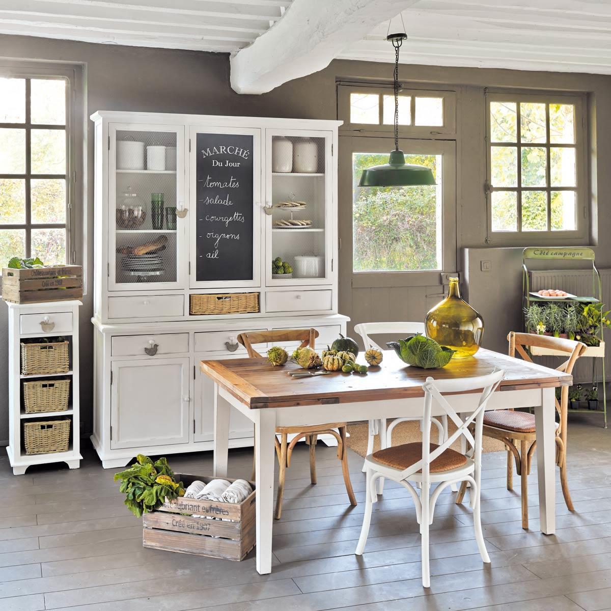 Maison Du Monde Tavoli Da Cucina.Cucine Maison Du Monde Accessori E Mobili In Stile Shabby Foto