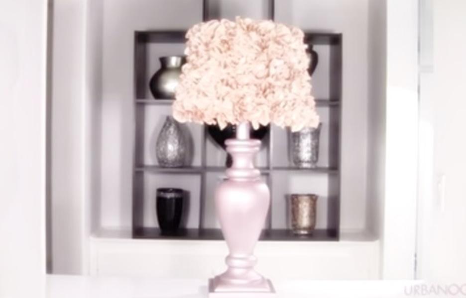 Come Fare Un Lampadario Shabby.Come Realizzare Una Lampada Da Tavolo In Stile Shabby Video