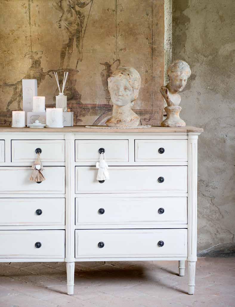 Arredamento Shabby Toscana lo shabby chic di blanc mariclò: eleganza e artigianalità
