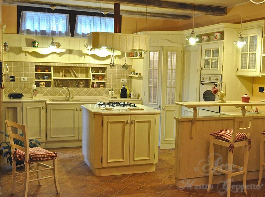 Cucina coloniale: ecco i modelli più belli dell\' Arte di ...