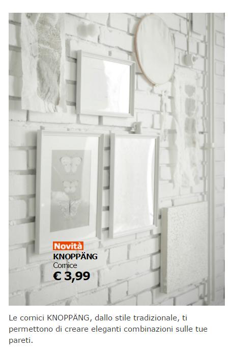 Accessori e lampade ikea ecco i pi economici for Cornici foto ikea