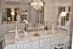 Shabby home: quando il tuo spazio diventa glamour sala da pranzo total white
