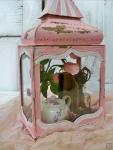Shabby chic rose interiors