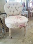 Shabby chic rose interiors poltrona