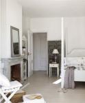 Stile di arredo di una casa a Madrid camera da letto