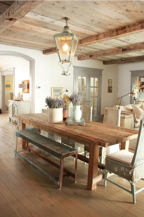 La Sala Da Pranzo In Stile Provenzale Ecco Come Arredarla Foto
