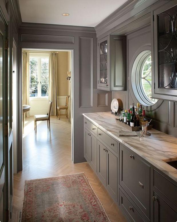 Pareti Color Tortora In Cucina ~ Presente Casa e Interior Design
