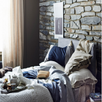 Arredare camera da letto copriletto alina
