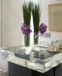 Bagno design: lavandino plexiglass