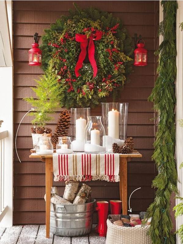 Decorazioni Natalizie Per Balconi Fai Da Te.Come Decorare I Balconi Per Natale 7 Idee Per Stupire Foto
