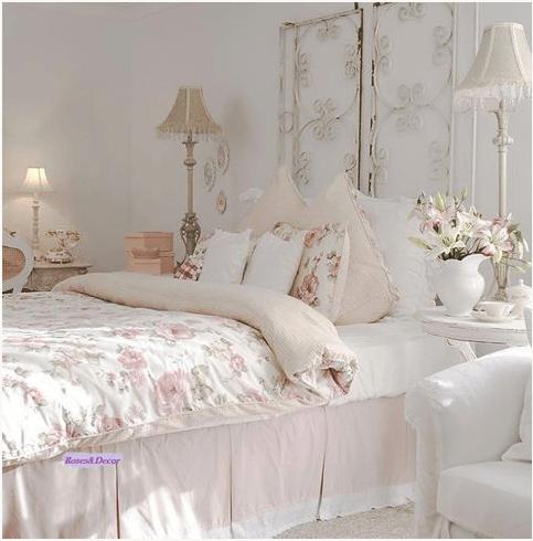 consigli per arredare la tua camera da letto in stile Shabby Chic