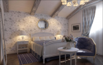 Camere letto provenzale: glicine