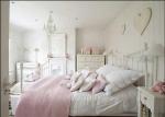 Camere letto provenzale: rosa