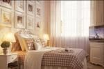 Camere letto provenzale: rosso
