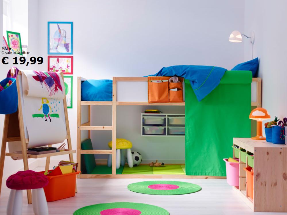 Camerette Da Bambino Ikea.Le Camerette Per Bambini Ikea Soddisfano Le Esigenze Di Grandi E Piccini