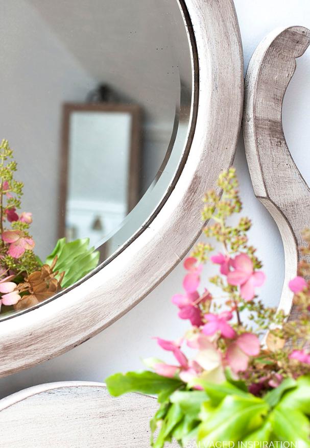 cassettone dettaglio specchio