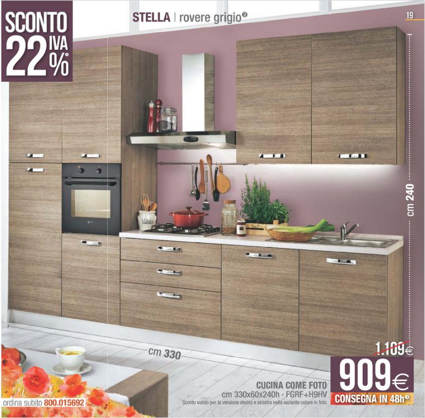 Mondo Convenienza Cucina Stella 330.Cucina Modello Stella Mondo Convenienza Chefs4passion