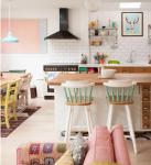 come arredare una casa vintage open space