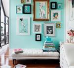come arredare una casa vintage parete