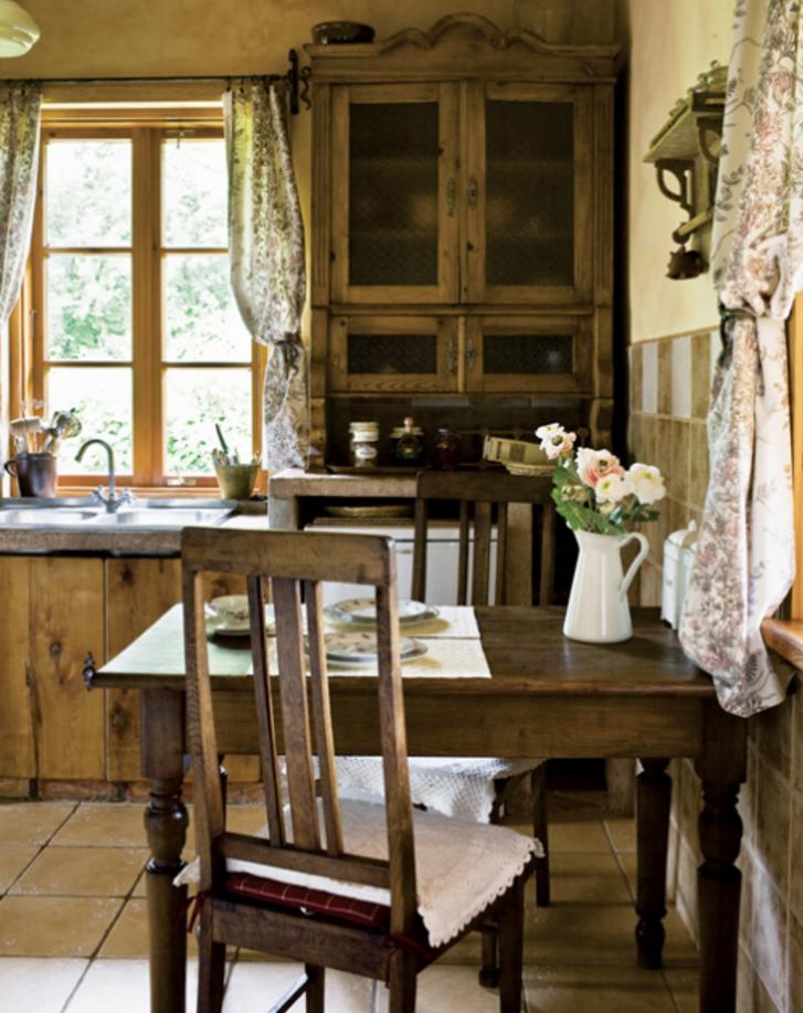 Arredamento Cucina Stile Country.Come Arredare Una Cucina In Stile Country Chic Foto