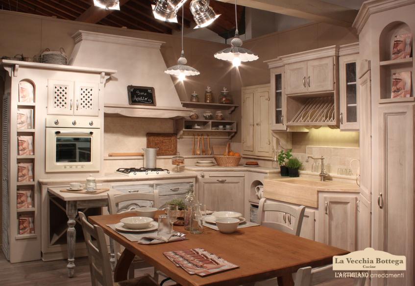 Cucine in muratura country e vintage: ti presentiamo l'azienda L'artigiano arredamenti