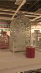 Lanterna Ikea: bianca grande