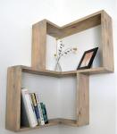 Mobili legno grezzo: mensole