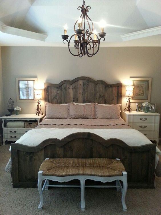 panca azzurra camera da letto