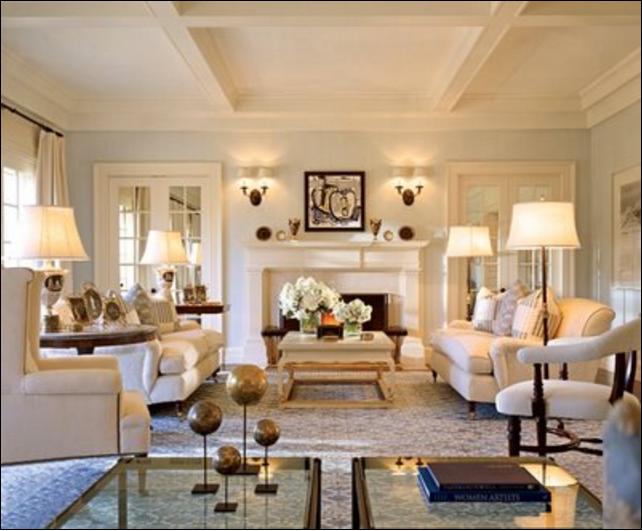 Pareti del soggiorno color crema: suggerimenti per te