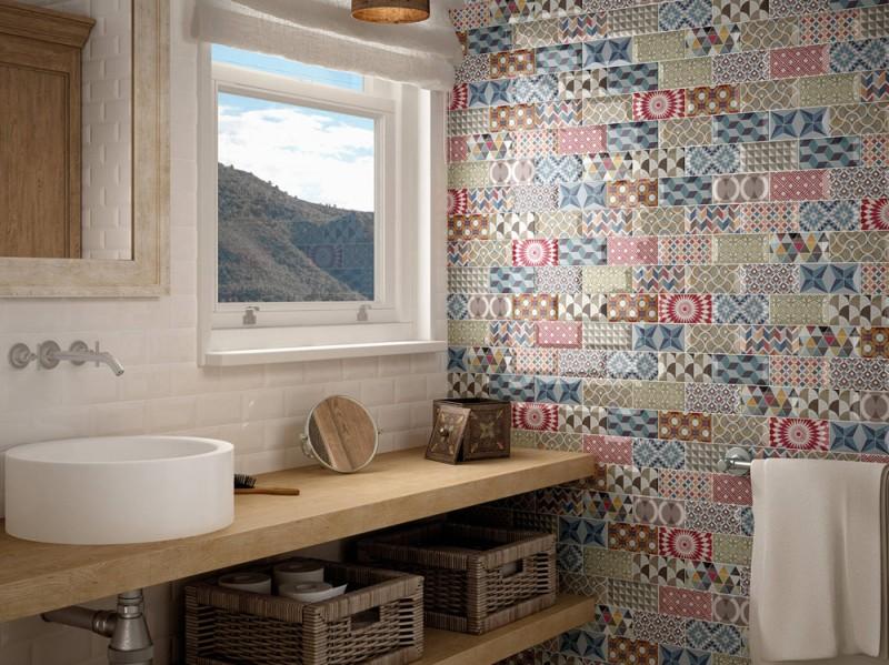 Le piastrelle maiolica per cucina per dare un tocco shabby for Bricoman piastrelle mosaico