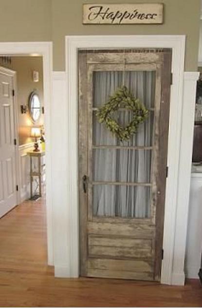 Come restaurare le porte di legno e renderle shabby